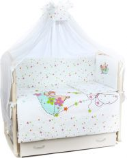Комплект в кроватку Lider Kids 102032 White
