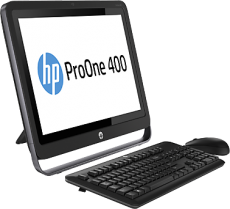 Моноблок HP ProOne 400 (Celeron/G1840T/2500MHz/4Gb/500Gb/21.5/DVDRW/WiFi/BT/W8.1P64/Black)