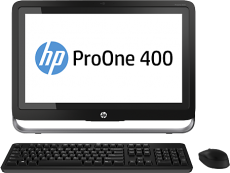 Моноблок HP ProOne 400 G1 (Celeron/G1820T/2400Mhz/4096Mb/19.5/500Gb/DVDRW/WiFi/BT/W8.1)